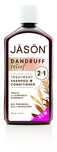 Jason Natural Products Dandruff Relief Treatment Shampoo and Conditioner, 12 Ounce