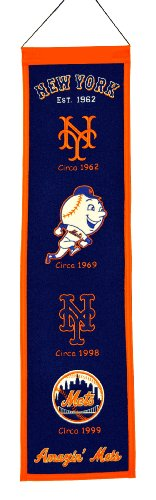 MLB New York Mets Heritage Banner