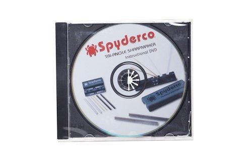 Spyderco DVD Instructions for Tri-Angle Sharpmaker 204DVD