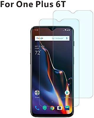 BESTCASESKIN [2-Pack Protector Pantalla OnePlus 6T, Cristal ...
