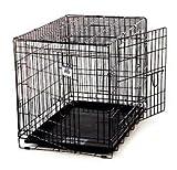 LITTLE GIANT Pet Lodge Medium Double Door Wire Pet Crate