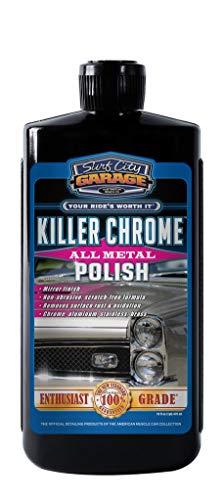 Surf City Garage 139 16 oz Killer Polish 16oz-Polishes & Cleans Aluminum, Chrome, Stainless Steel-Mirror Finish-No Scratching or Degrading The Metal ()