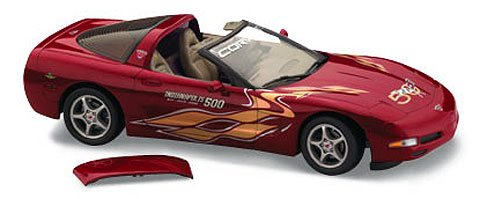 Franklin Mint 2003 Corvette 50th Anniversary Indy Pace Car Diecast Model by The in 1:24 Scale Last Piece
