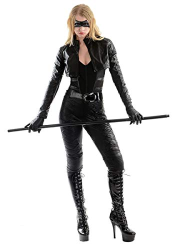 Charades Women's Licensed Black Canary Costume, As Shown, Medium -