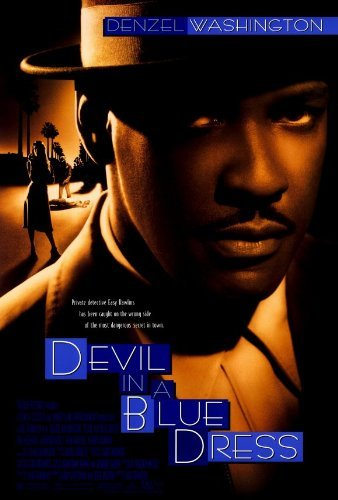Devil in a Blue Dress Movie Poster (27 x 40 Inches - 69cm x 102cm) (1995) Style B -(Nick(y) Corello)(Denzel Washington)(Jennifer Beals)(Don Cheadle)(Tom Sizemore)(Maury Chaykin) by MG Poster