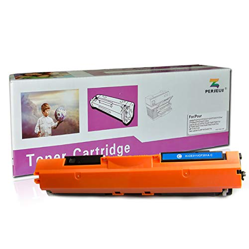 (PERSEUS Compatible Toner Cartridge Replacement for HP 130A CF351A Cyan, Works for HP Color Laserjet Pro MFP M176n M177fw M176 M177 Printer)