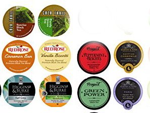 10 Cup Super TEA sampler 10 Varieties! NEW flavors! Harney Tea, Prospect Tea, Higgins & Burke