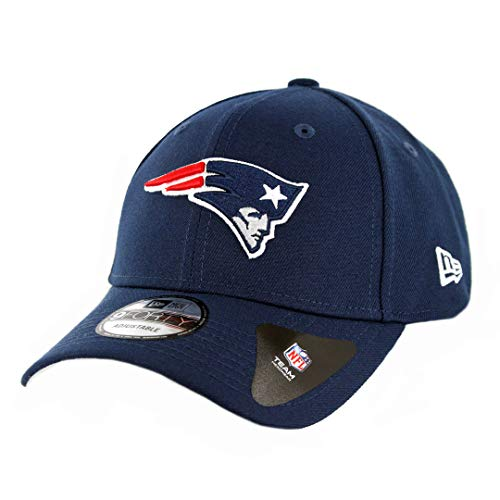 New Era New England Patriots Navy Super Bowl LIII Side Patch League 9FORTY Adjustable Hat