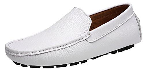 uomo White bianco con le Stivali 40 CFP frange wzYCIX4WWq