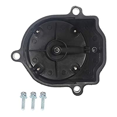 CTCAUTO Motor products Ignition Distributor Cap Replacement for 1992-1997 Geo Prizm Toyota Celica/Corolla/Paseo 734 51003 395 YD-137: Automotive