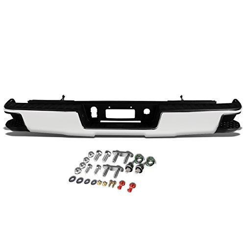 For Chevy Silverado/GMC Sierra Chrome Rear Corner Step Bumper (No Park Distance Sensor (Chevrolet Silverado Ltz)