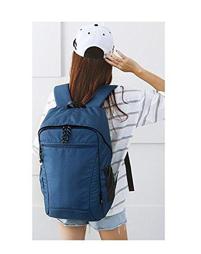 YYY-Un nuevo día mochila para hombres y mujeres al aire libre deportes Camping escalada 44 * 29 * 17 cm , gray , 21 inch deep blue