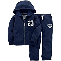 Carter's Boys' Big Fleece Hoody and Pant Set,