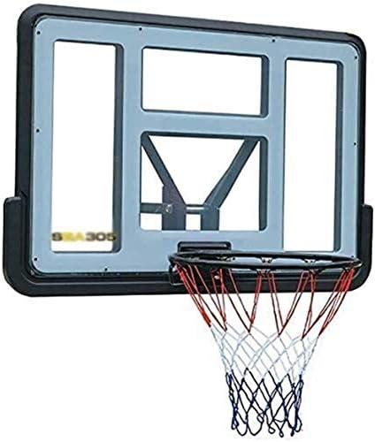 バスケットゴール 耐久性のある調節可能な屋内ミニバスケットボールフープとボール屋外バスケットボールのフープポータブルミニバスケットボールフープウォールマウントバックボードシステム MGIZLJJ
