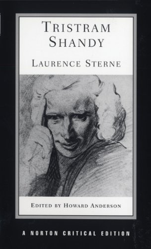 Book cover from Tristram Shandy (Norton Critical Editions) by Laurence Sterne