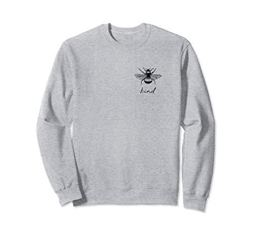 Bee Kind Summer Feminist Nature Bumblebee Sweatshirt