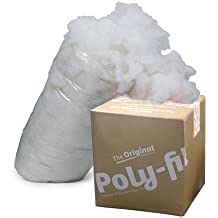 Fairfield the Original Poly-Fil Premium 100% Polyester Fiber Fill Box, 6.5 Pounds, White