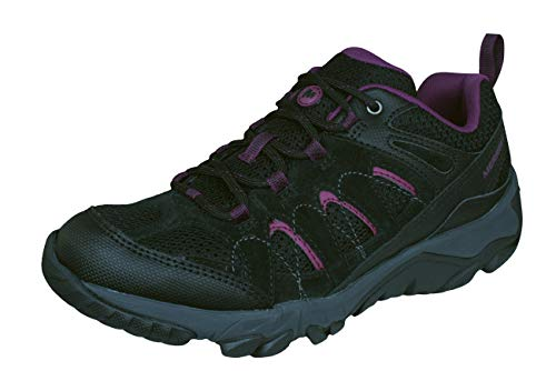 Outmost Hiking Shoes Walking Merrell Womens Trainers Black Ventilator 7S6wqOFtxq