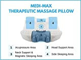 Medi-Max SMART Therapeutic Pillow - The world's first memory foam acupressure pillow for insomnia, stress, anxiety and neck pain