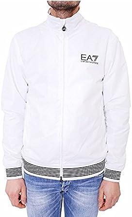 Emporio Armani EA7 Blouson - Chaqueta para Hombre, Color Blanco, Talla XXXL: Amazon.es: Ropa y accesorios