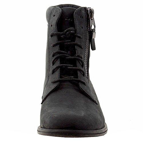 Diesel Men's Jefferson Fashion Black Leather Boots Shoes Sz. 10.5