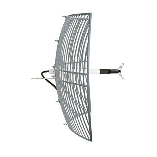 Homevision Technology WAG24243 Turmode 2.4Ghz Grid Antenna, Gray
