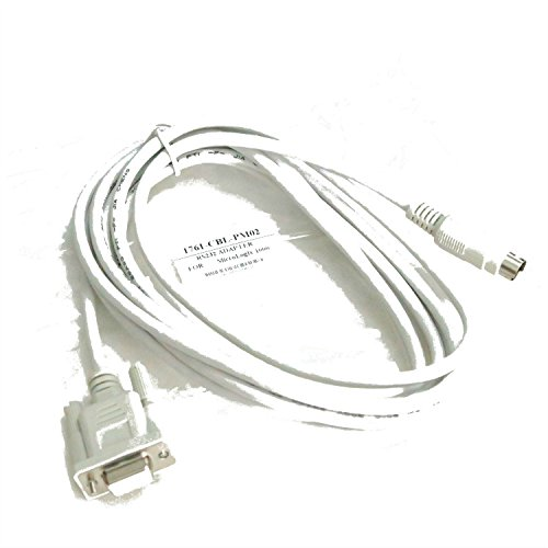 Programming Cable for 1761-CBL-PM02 AB Micrologix 1000/1200/1500 PLC (Micrologix 1000 Plc)