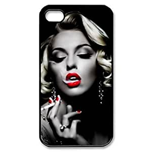 GROUPBUYLINK Marilyn Monroe Hard Back Protective Cover for iphone 4 4S Color 1