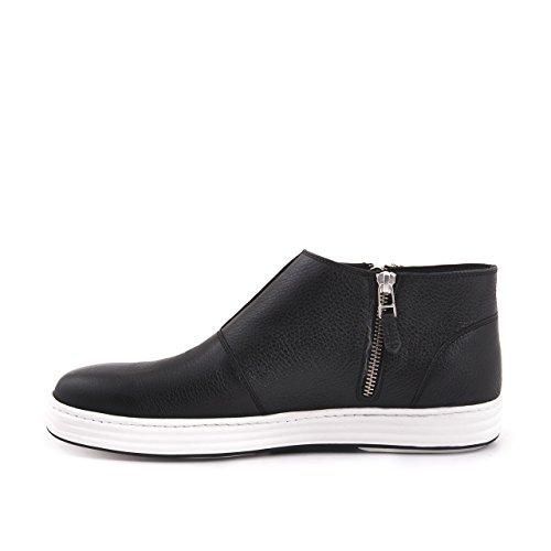 Uomini Mocassini High-top Sneaker Stivali Scarpa In Pelle Vera Pelle Tomaia In Pelle Suola In Tempo Libero Tutti I Giorni Ad Alta