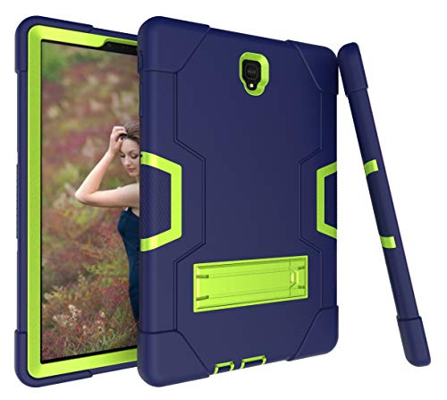 - Galaxy Tab S4 10.5 2018 Case, KMISS Heavy Duty with Kickstand Shockproof Full Body Protective Case Cover for Samsung Galaxy Tab S4 10.5 inch SM-T830/T835/T837 (Navy+Olivine)