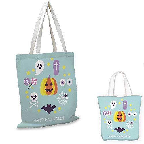 small clear shopping bag Happy Halloween Trendy