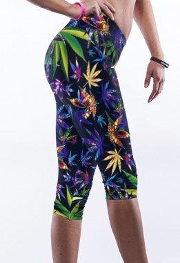 Pertul Ltd. Damen Leggings mehrfarbig mehrfarbig One size