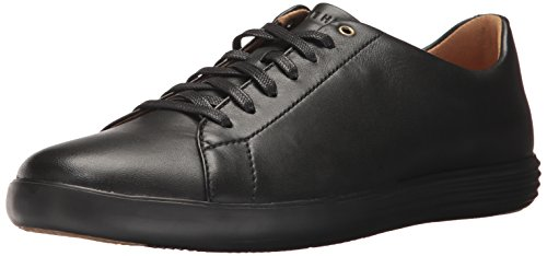 Cole Haan Men's Grand Crosscourt II Sneaker, Leather/Black, 10 Medium US