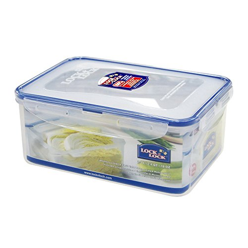 Lock & Lock Airtight Rectangular Food Storage Container 77.77-oz / 9.72-cup (Cup Lock & Lock Rectangular)
