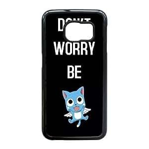 Samsung Galaxy S6 Edge case , Fairy Tail Samsung Galaxy S6 Edge Cell phone case Black-YYTFG-24086