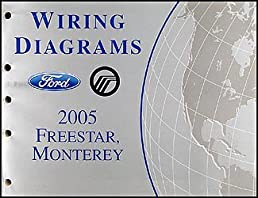2005 ford freestar \u0026 mercury monterey wiring diagram manual original MPG 2005 Mercury Monterey 2005 ford freestar \u0026 mercury monterey wiring diagram manual original paperback \u2013 2005