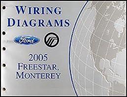 2005 ford freestar mercury monterey wiring diagram manual original rh amazon com