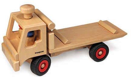Fagus Wooden Tow Truck (14.5 Inch)