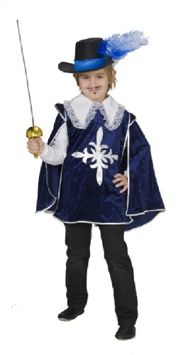 Karneval Kinder Kostum Musketier Robe Fur Fasching Grosse 116 Amazon