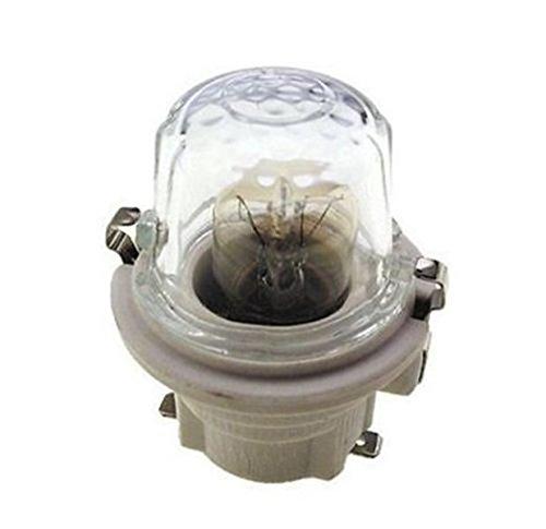 Portalámparas de cerámica universal con bombilla E14 para horno ...