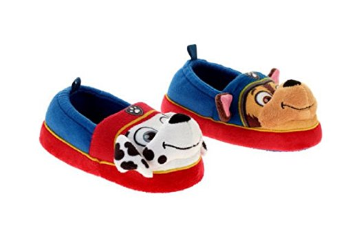 Nickelodeon Paw Patrol Boys/girls Chase & Marshall Slippers (M 7-8) - Marshall Clothing Store