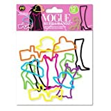 Shaped Rubber Bands Bracelets 12Pack Vogue