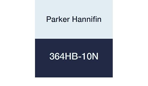 Parker Hannifin 364HBM-2N Par-Barb Nylon Union Tee Fitting 1//8 Hose Barb x 1//8 Hose Barb White