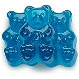 FirstChoiceCandy Albanese Gummy Bears (Blue Raspberry, 1 LB)