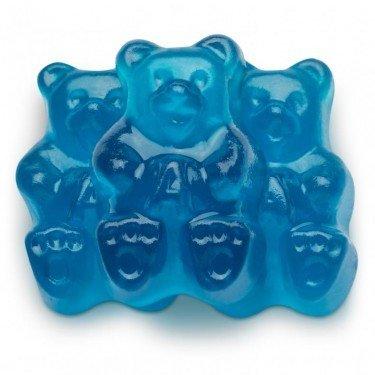 FirstChoiceCandy Albanese Gummi Bears (Blue Raspberry, 1 LB)