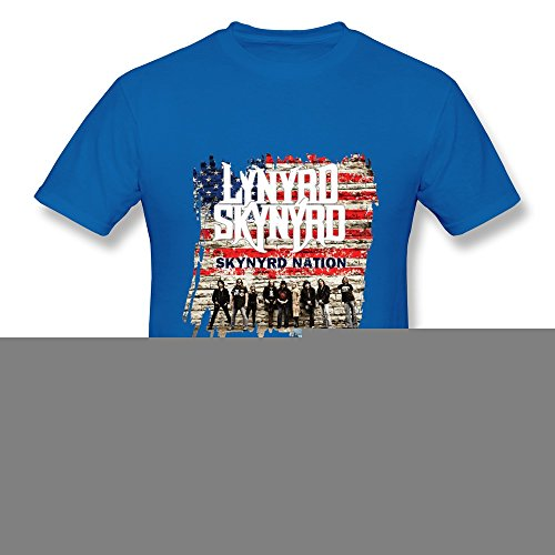 SL Lynyrd Skynyrd T Shirt For Men RoyalBlue S