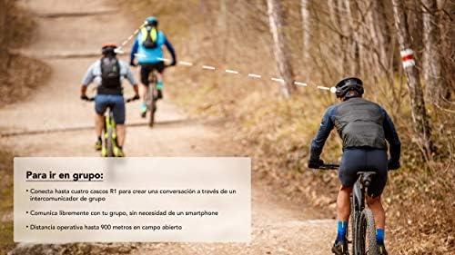 Sena R1 Smart Helmet para ciclismo (Matte Black, Tallas M): Amazon ...