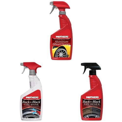 Mothers Aluminum Wheel & Tire Care Bundle