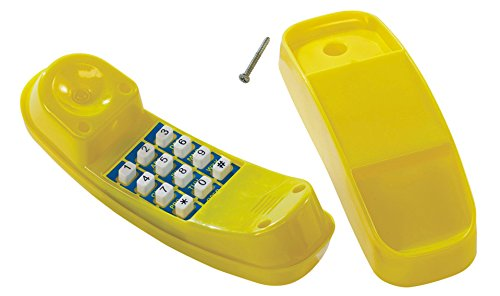 HappyPie Creative Children Plastic Telephone Toy on the play deck or Backyard playsets