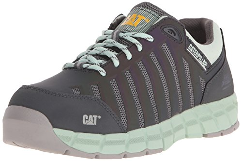 Caterpillar Women's Chromatic Oxford Athletic Comp Toe, Cameo Green, 8 W US